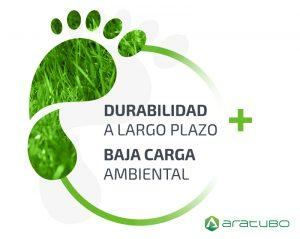 Durabilidad a largo plazo baja carga ambiental