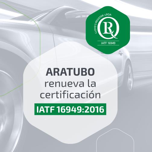 Aratubo IATF16949:2016 ES