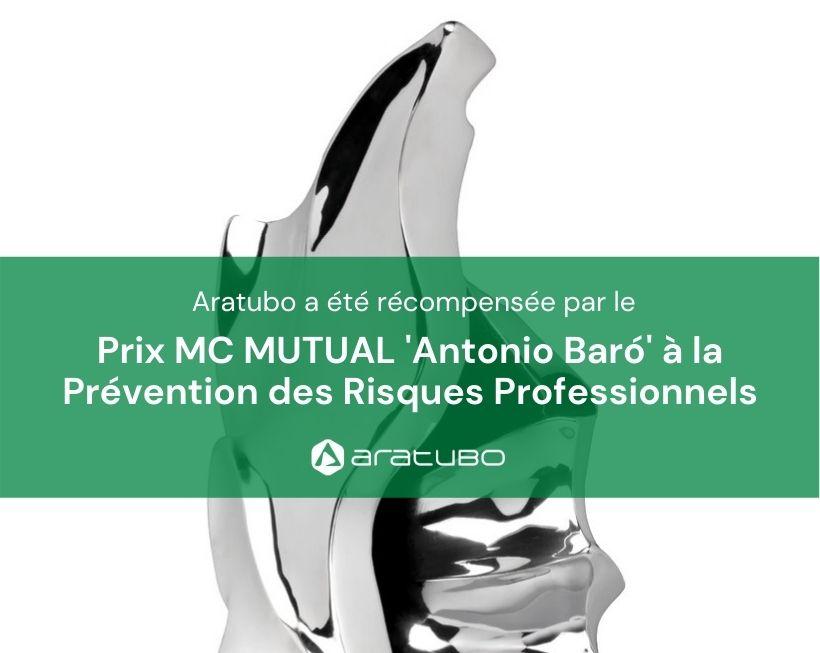 Aratubo reçoit le Prix à la Prévention des Risques Professionnels