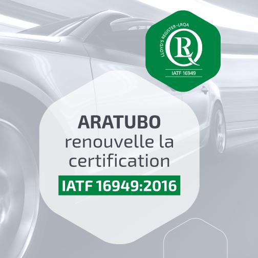 Aratubo IATF16949:2016 FR