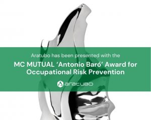 Aratubo has been awarded for Occupational Risk Prevention